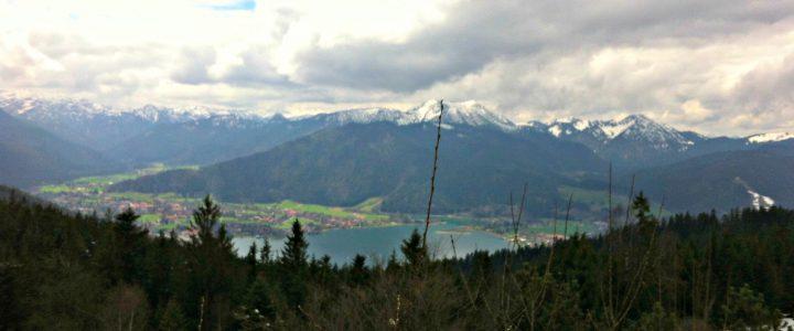 Lauftour: Maximiliansweg, Tegernseer Höhenweg & weiter bis Miesbach
