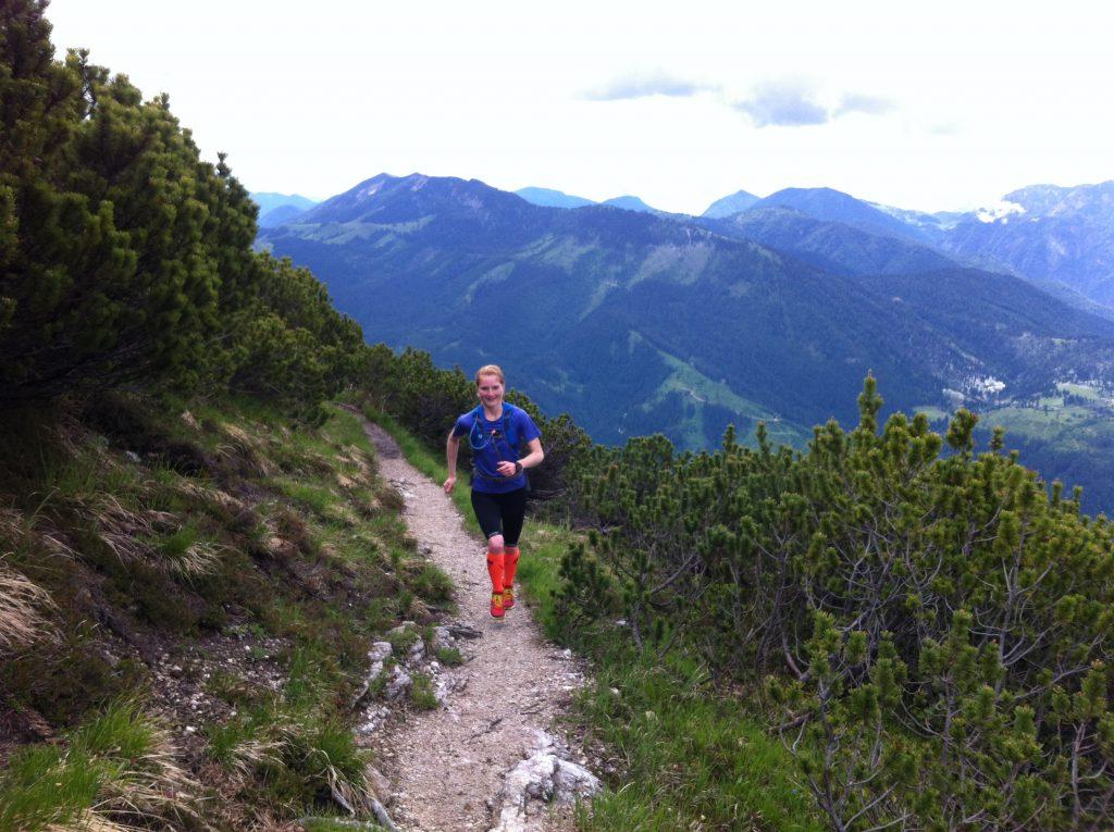 Letzter Sprint zum Gipfelkreuz