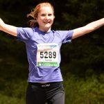 Auch auf km 37 noch Spaß am Marathonlaufen