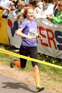 Zieleinlauf beim Rennsteigmarathon