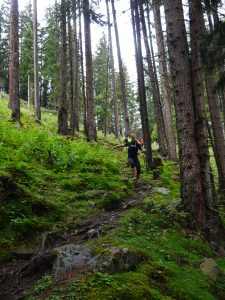 Über Wurzeln, Stock und Stein auf dem Pitztal-Trail