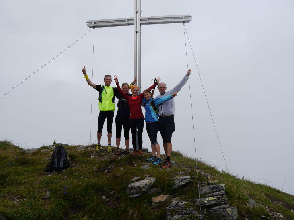 Gipfel des Kreuzjoch