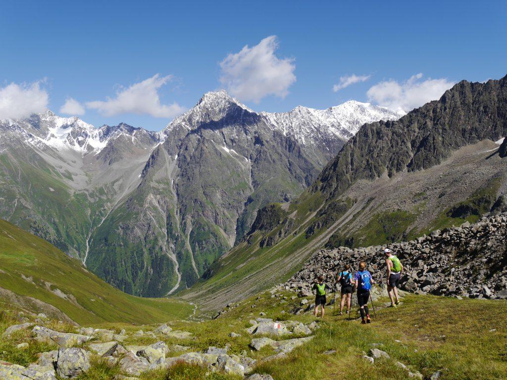 Trailrunning auf dem Höhenweg