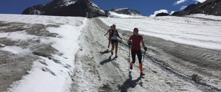 Pitztal Trail, 3. Tag: Gletscherüberquerung