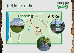 6,5-km-Strecke des Andechser Naturlaufs
