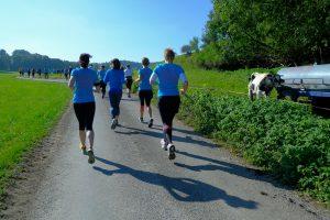 LäuferInnen beim Andechser Naturlauf