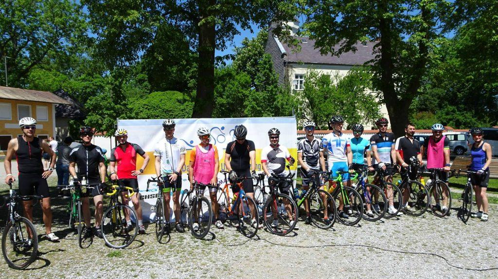 Rad-Streckencheck des Chiemsee Triathlon