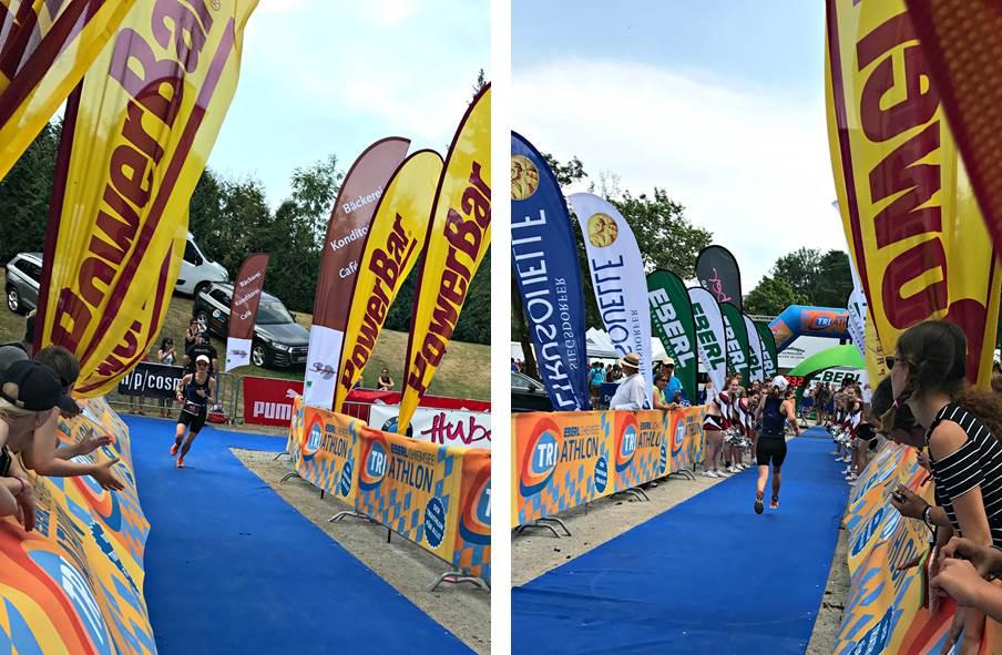 Chiemsee Triathlon: Zieleinlauf