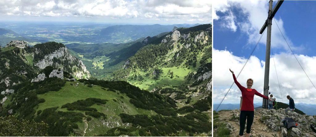 Aussicht und Gipfelglück auf der Benediktenwand