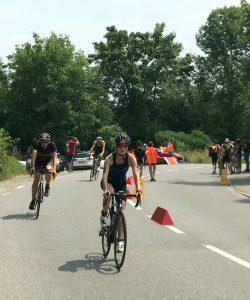 Chiemsee Triathlon: Radfahren