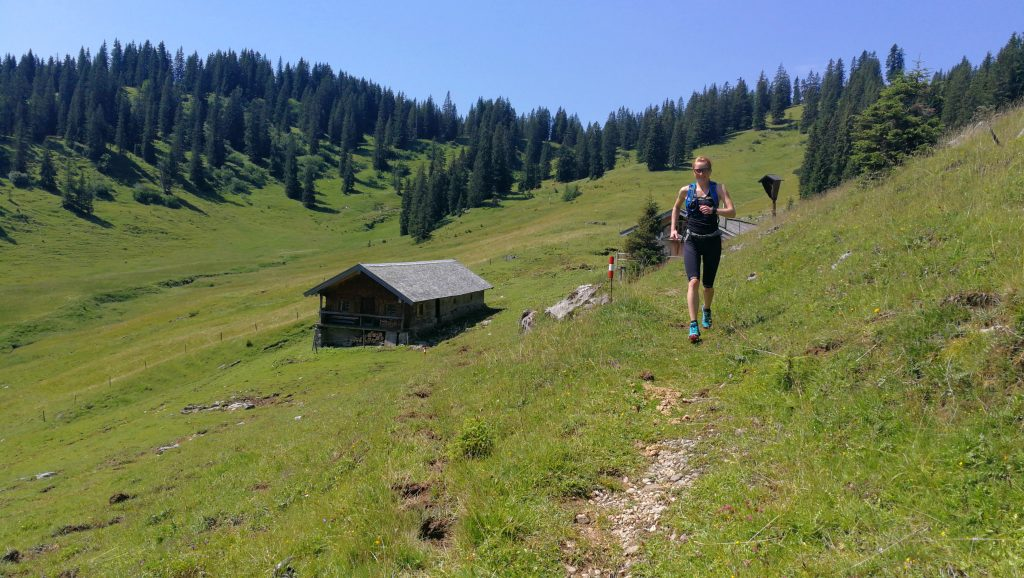 Trailrunning Blauberg, Almpfade