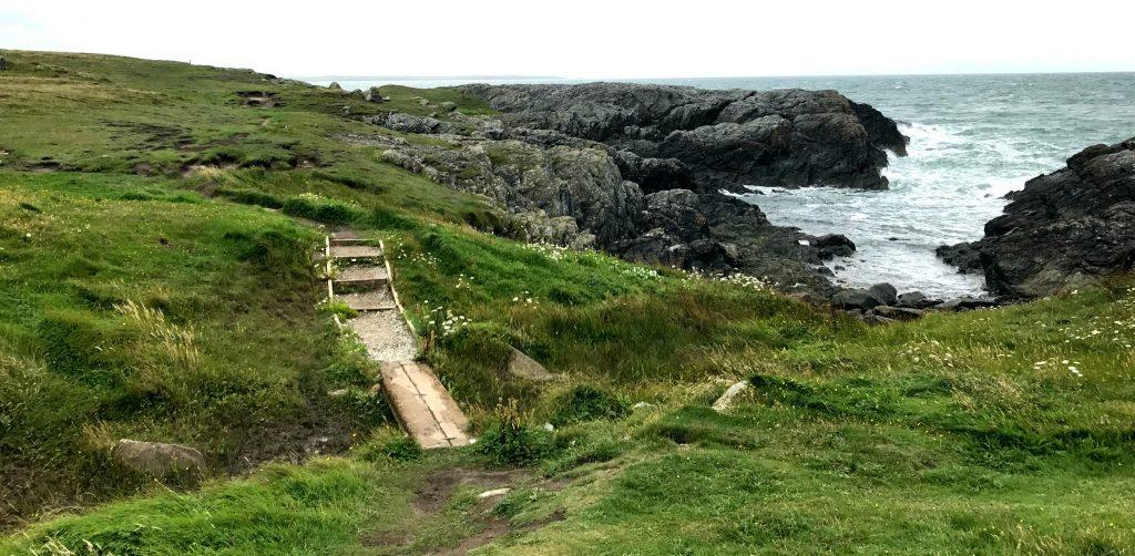 Anglesey Coastal Path: Bruecke