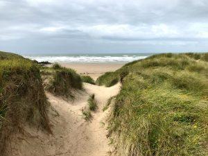 Anglesey Coastal Path: Strand Aberffraw