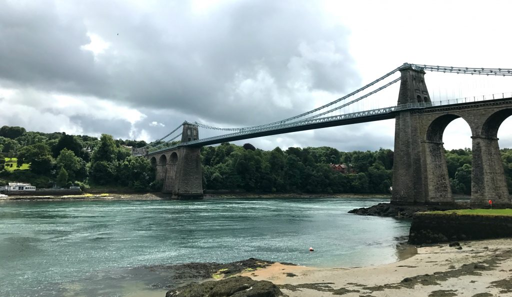 Anglesey Coastal Path: Menai Bridge