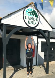 Ankunft in Land's End