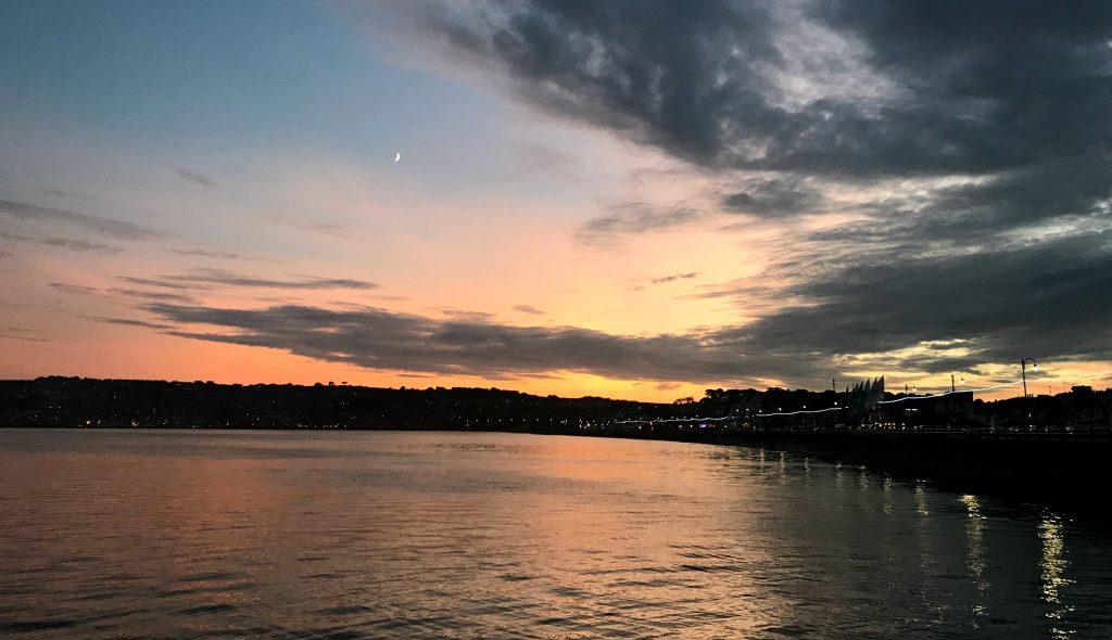 Penzance: Sonnenuntergang