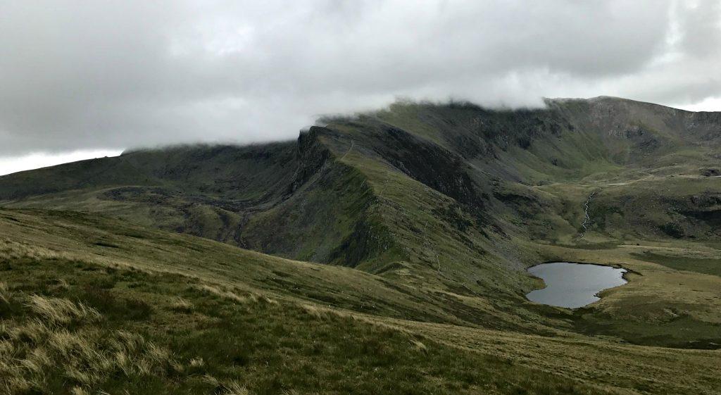 Blick auf den Snowdon Ranger Path