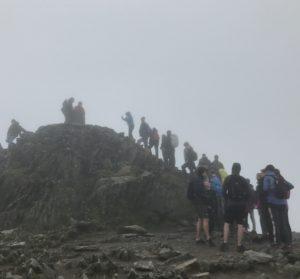 Snowdon-Gipfel