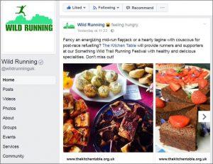 Wild Running Facebook Page