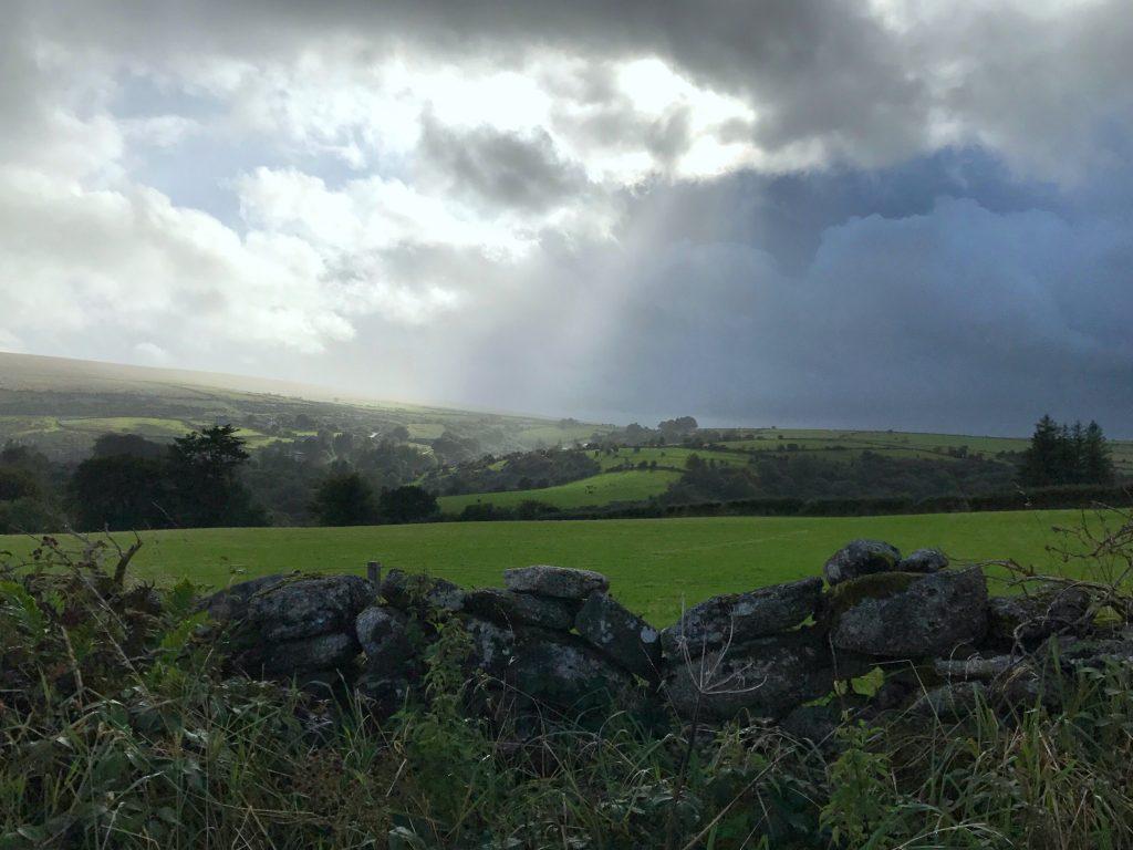 Dartmoor-Ausblick