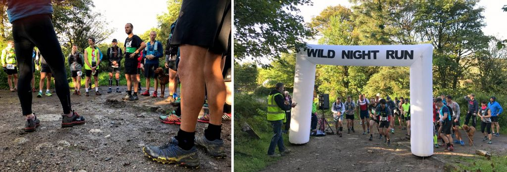 Race Briefing & Start Trail Marathon