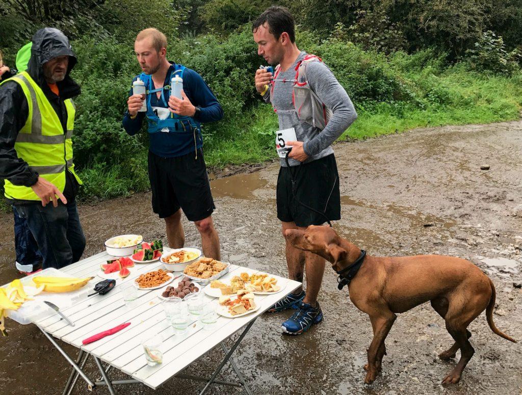 Verpflegungsstation Trail Running Festival