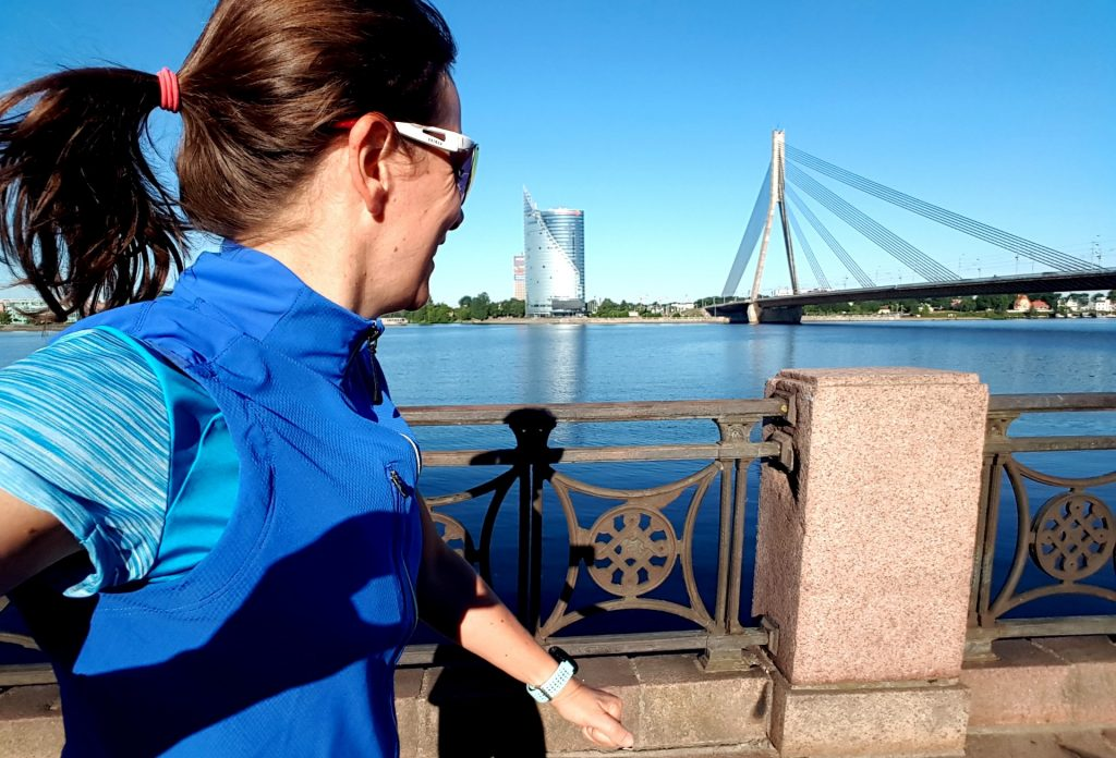 Sightrunning in Riga