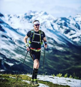 Pietro beim TransAlpine Run