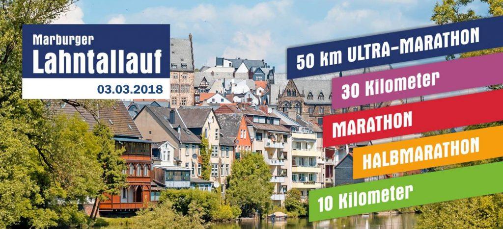 Lahnttallauf 2018 über fünf Distanzen von 10 bis 50 km