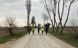 Dauerlauf im Trainingslager