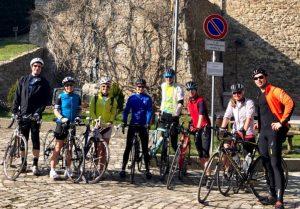 Rennradtour im Trainingslager