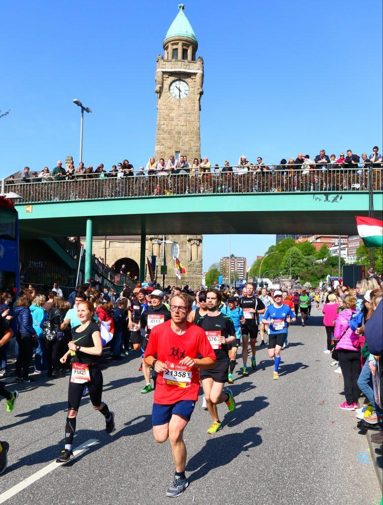Hamburg Marathon 2018 Landungsbrücken