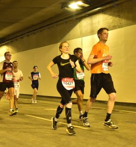 Hamburg Marathon 2018 Wallringtunnel