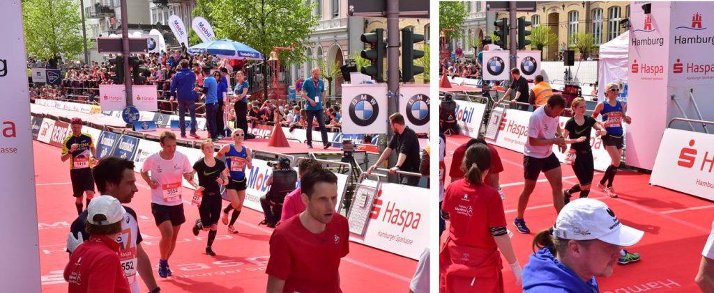Hamburg Marathon 2018 Zieleinlauf