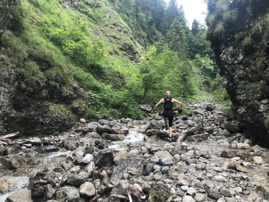 Trailrunning auf dem Giessenbach