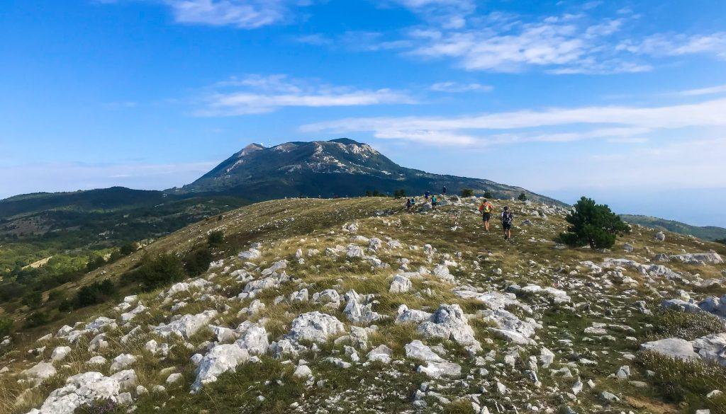 Bergplateau auf dem Ucka Trail