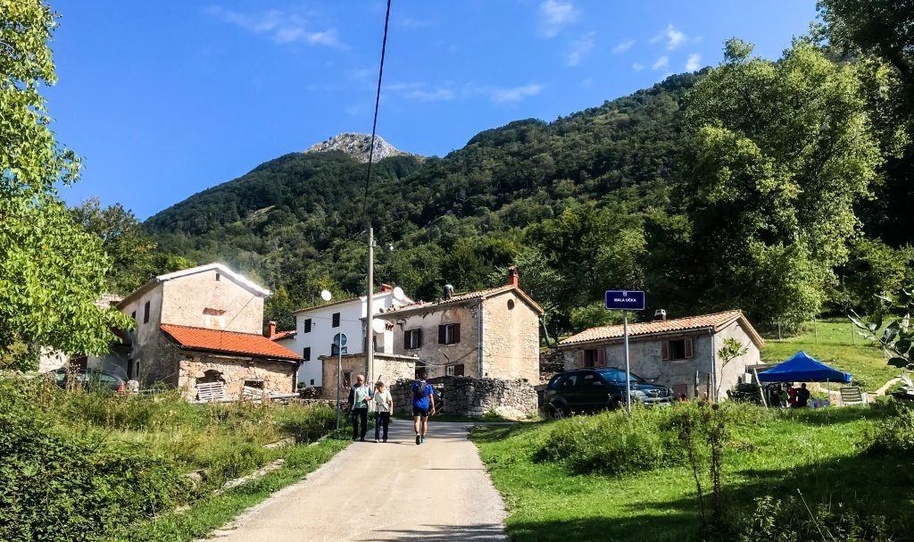 Verpflegungsstation Ucka Trail