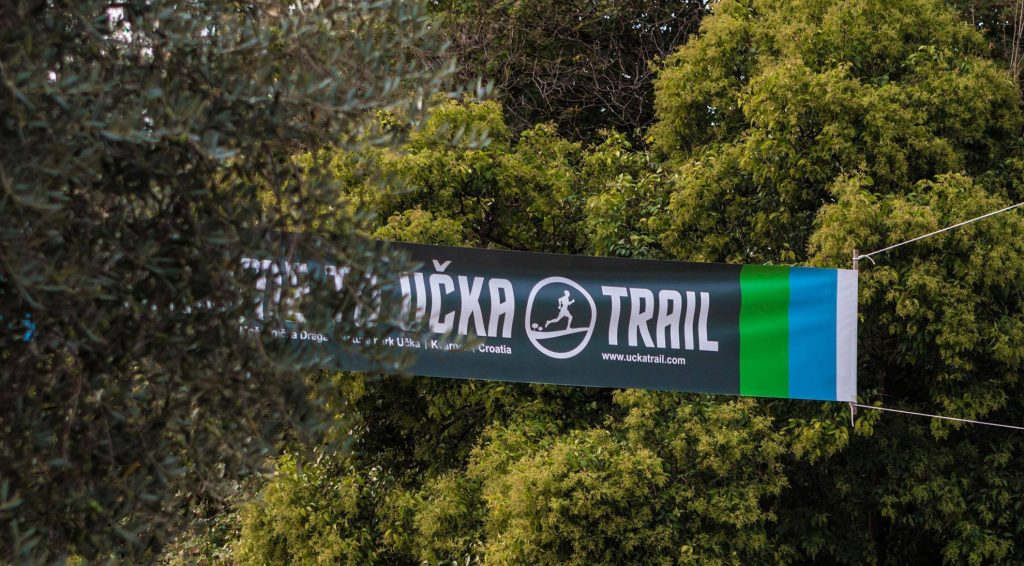 Ucka Trail Banner