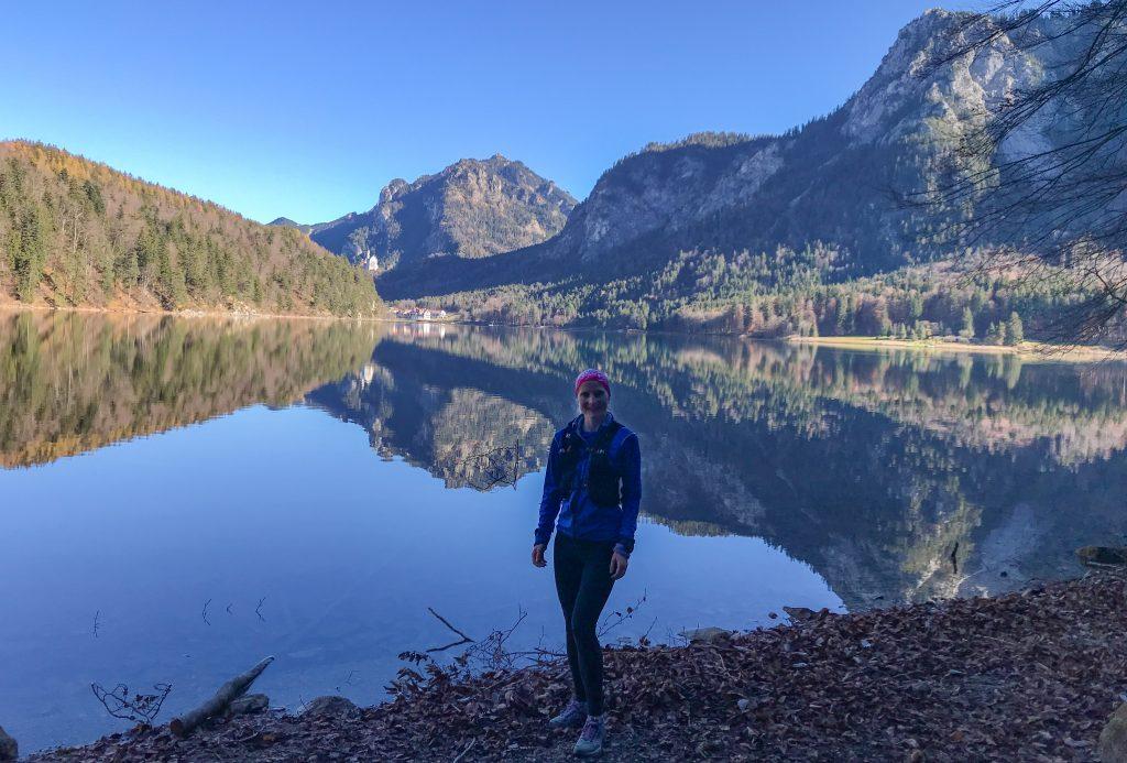 Kini Trail entlang des Alpsees