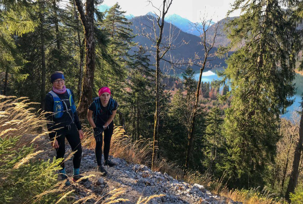 Finaler Anstieg beim Kini Trail