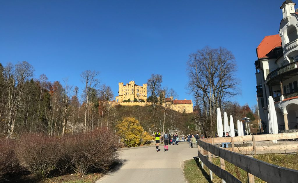 Kini Trail bei Schloss Hohenschwangau