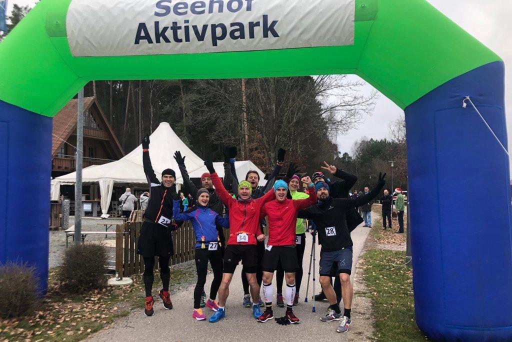 Vor dem Start des Seenländer Ultra XMas Marathon 2018