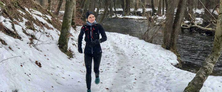 Lauftraining im Winter