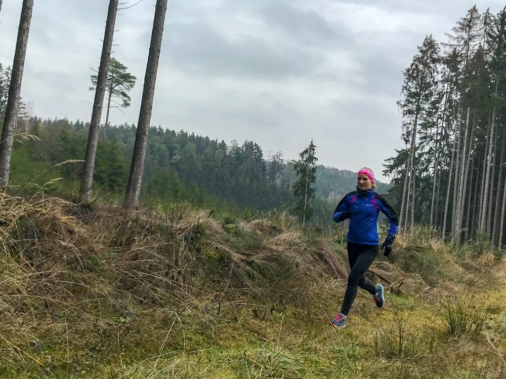 Training im Winter für den 50km-Lauf