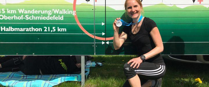 Rennsteiglauf-Medaille in Schmiedefeld