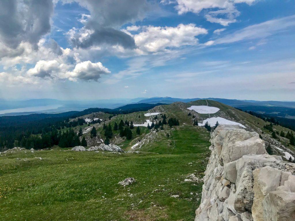Aussicht vom Mont Tendre