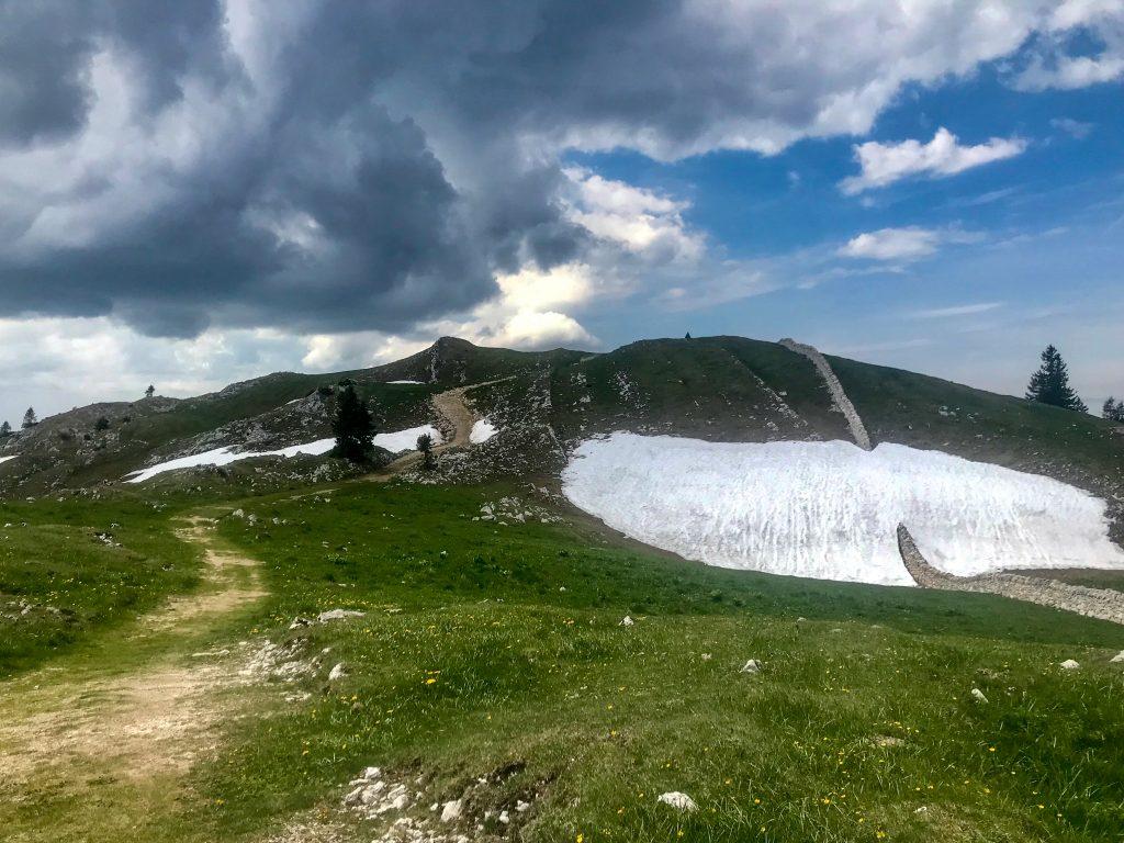 Blick auf den Mont Tendre