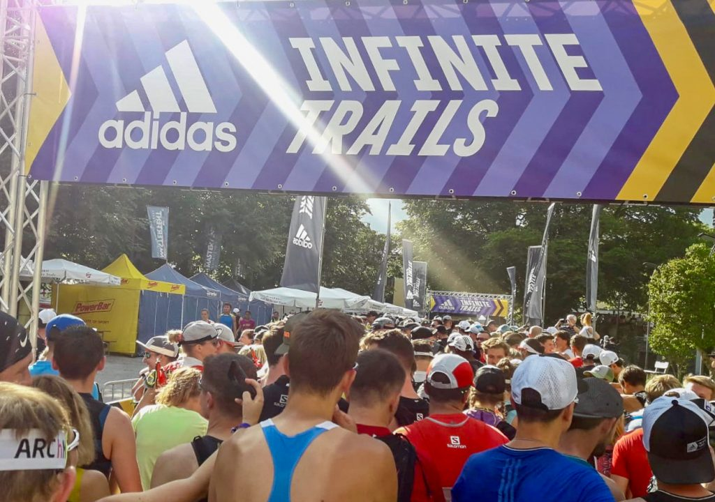 adidas Infinite Trails: Start