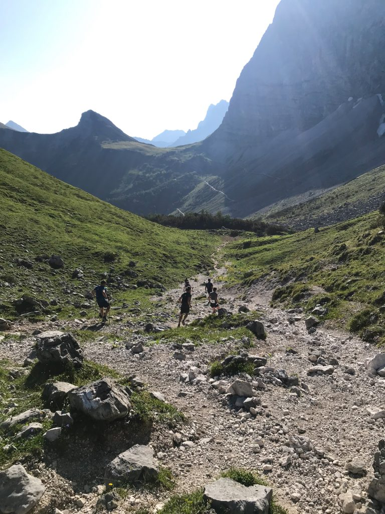 Karwendelmarsch-Downhill