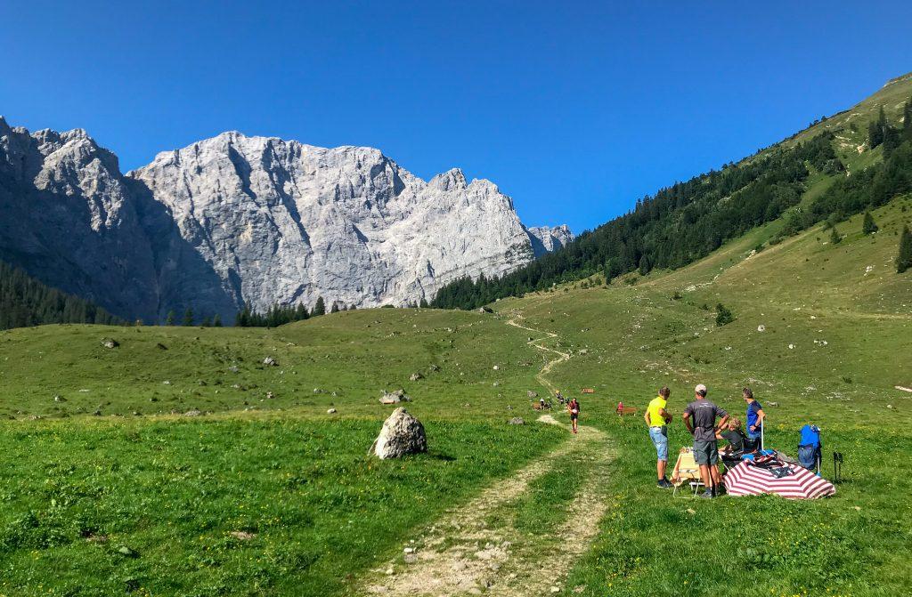 Karwendelmarsch: Downhill zur Eng